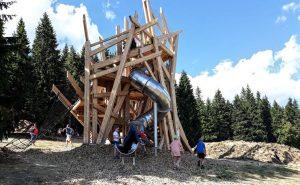 Dětské hřiště Krkonoše Pec pod Sněžkou Velká Úpa - Portášky